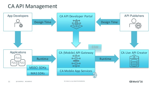 CA API Gateway implementation